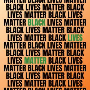 In Solidarity. Black Lives Matter.